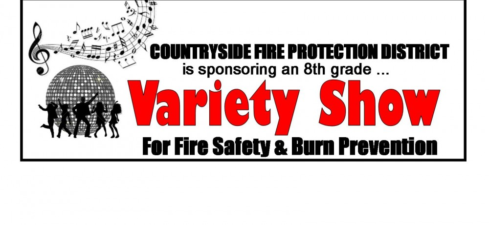 CFPD Sponsoring 8th Grade Variety Show Contest