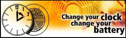 REMINDER: Daylight Saving Time Ends November 2nd/Change Your Clock Change Your Battery!