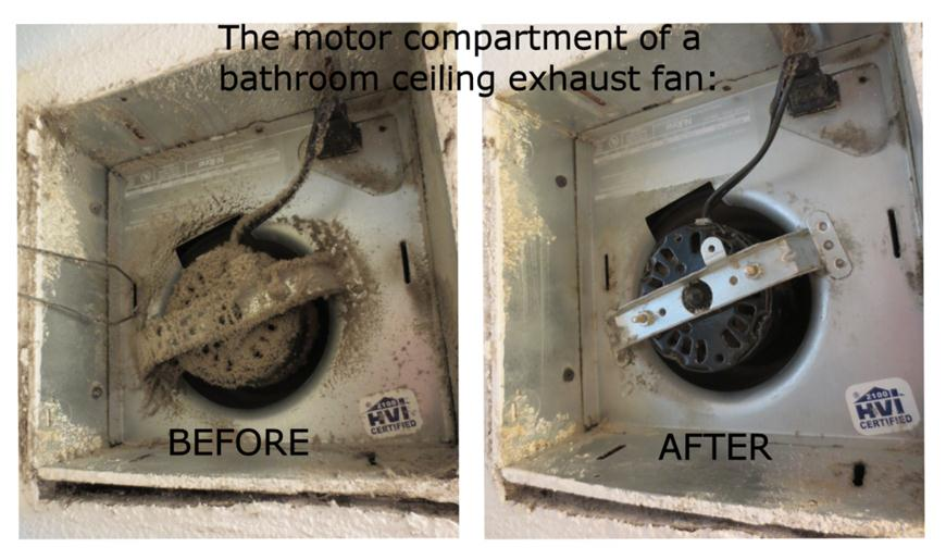 bathroom exhaust fan fire hazards | countryside fire protection