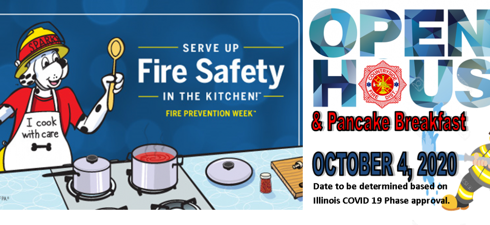 2020 Fire Prevention Week: October 4th-10th