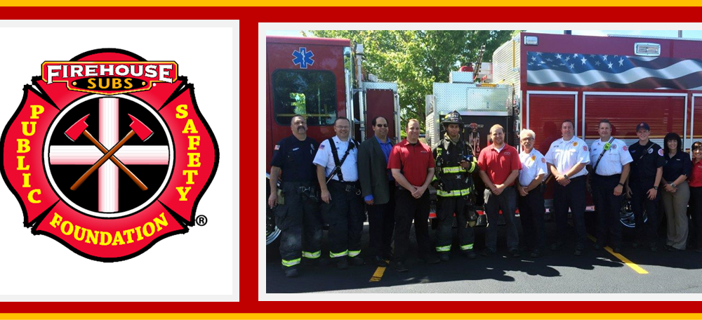 CFPD receives grant from Firehouse Subs Public Safety Foundation