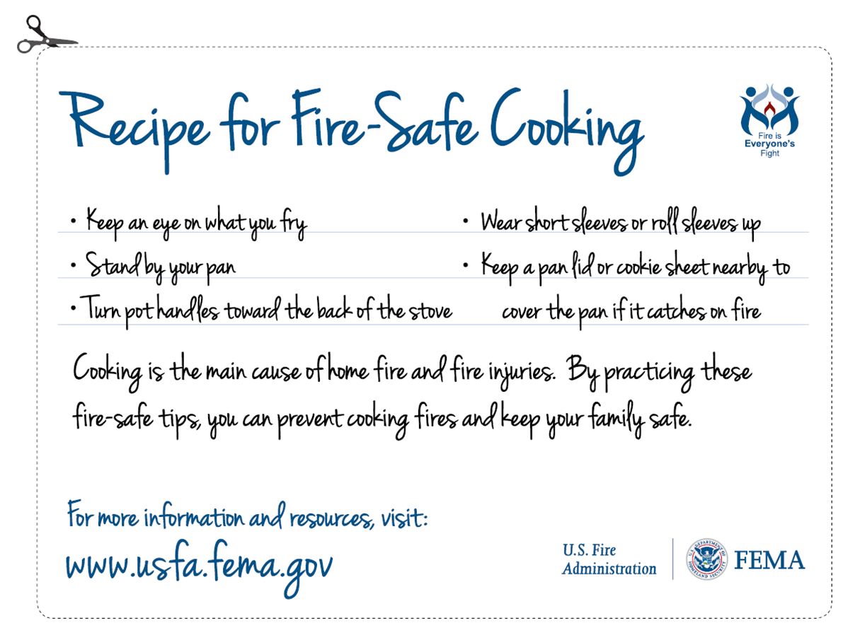 thanksgiving safety tips countryside fire protection district