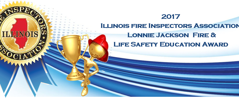 Fireman Tony Awarded the 2017 Lonnie Jackson Fire & Life Safety Education Award